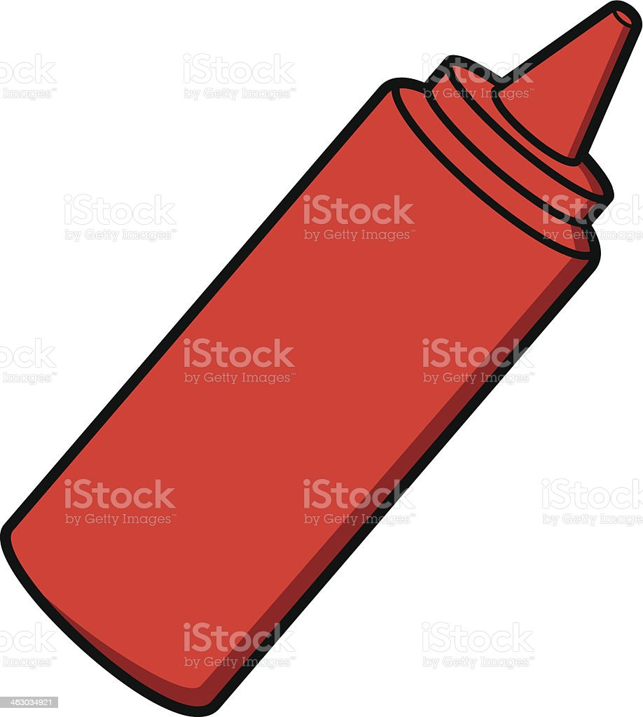 royalty free ketchup clip art vector images illustrations istock rh istockphoto com ketchup clipart ketchup bottle clipart black and white