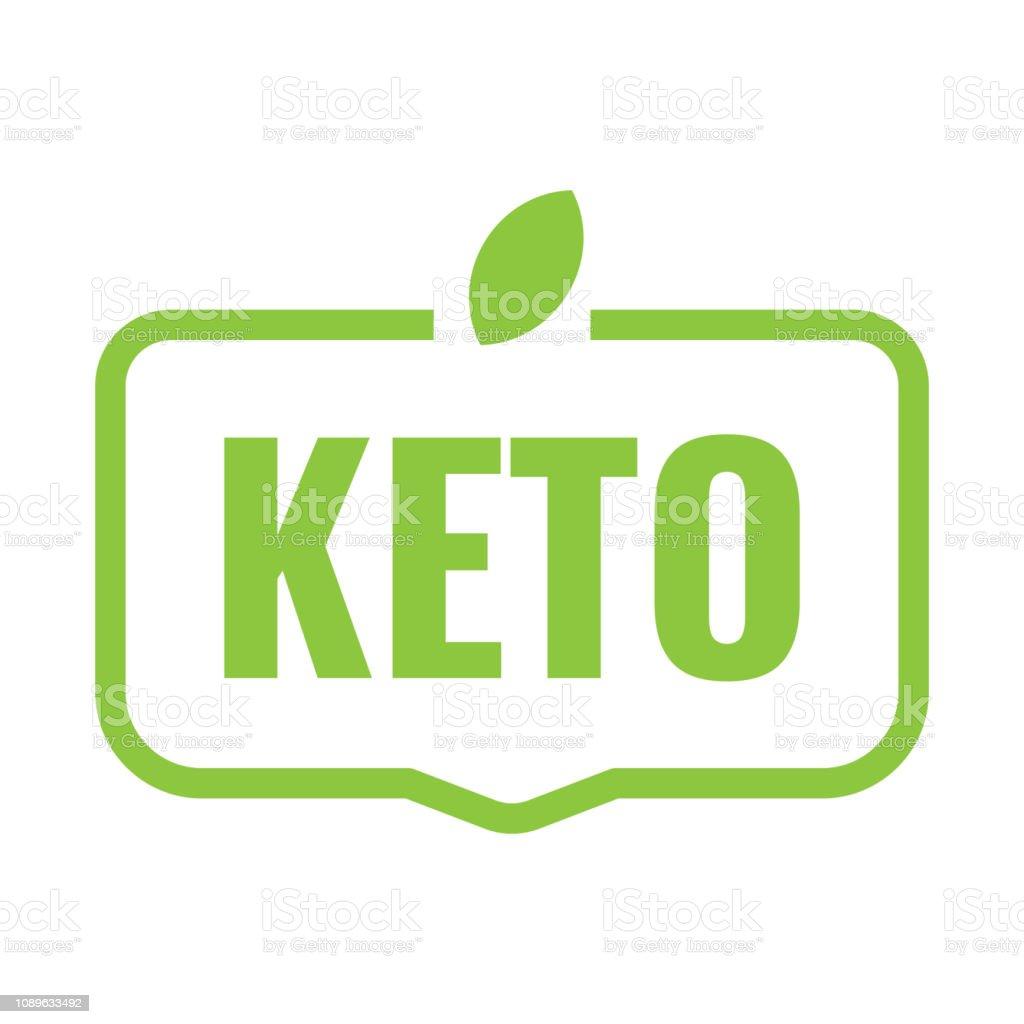 Keto. Vector illustration on white background. royalty-free keto vector illustration on white background stock illustration - download image now