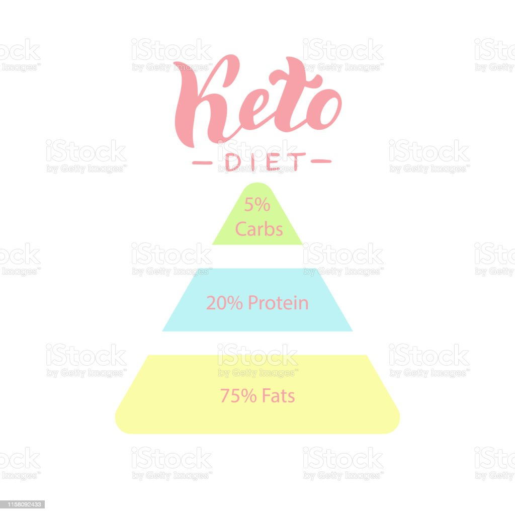 Ketogenic Diet Diagram Keto Healthy Deit Poster Banner Manual Guide