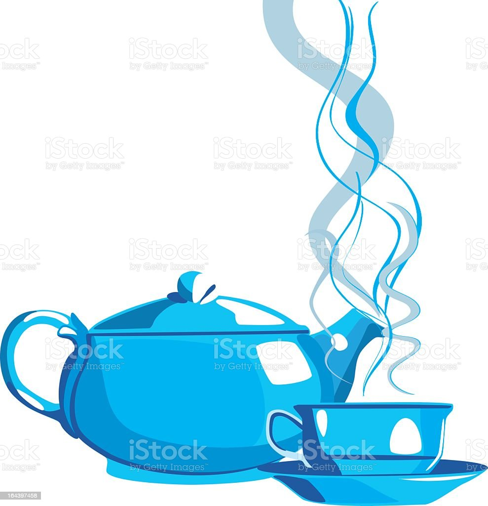 Kettle and cup royalty-free kettle and cup stock vector art & more images of afternoon tea