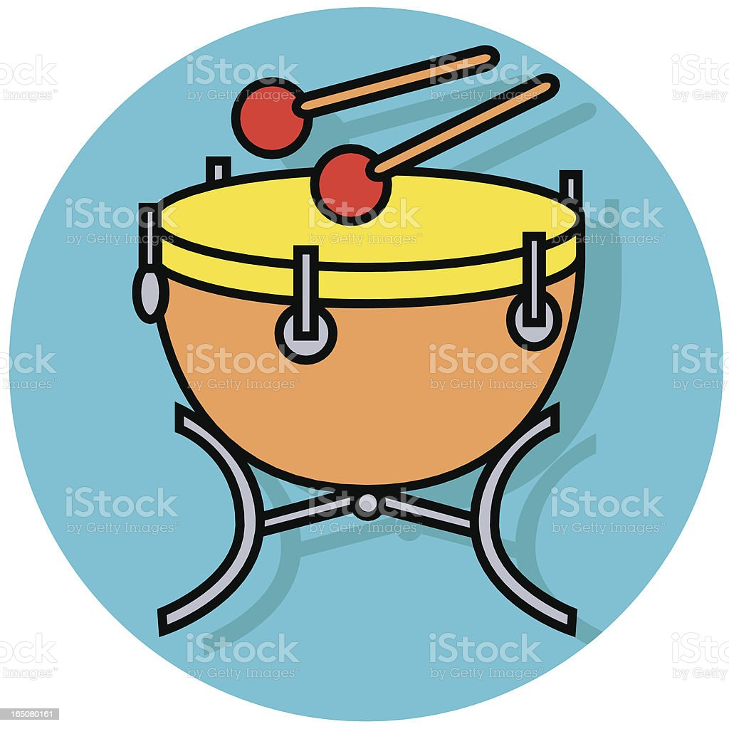 kettle drum icon royalty-free kettle drum icon stock vector art & more images of arts culture and entertainment