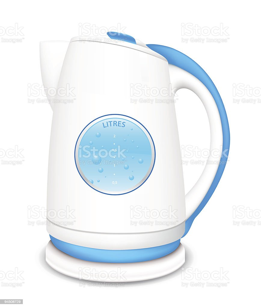 Kettle royalty-free kettle stock vector art & more images of blue