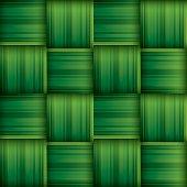 Ketupat (rice dumpling) texture. Woven palm leaf. Seamless background.