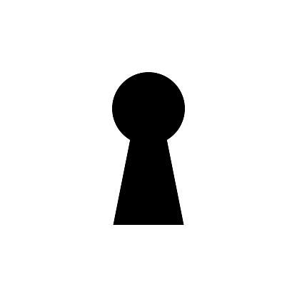 key hole symbol
