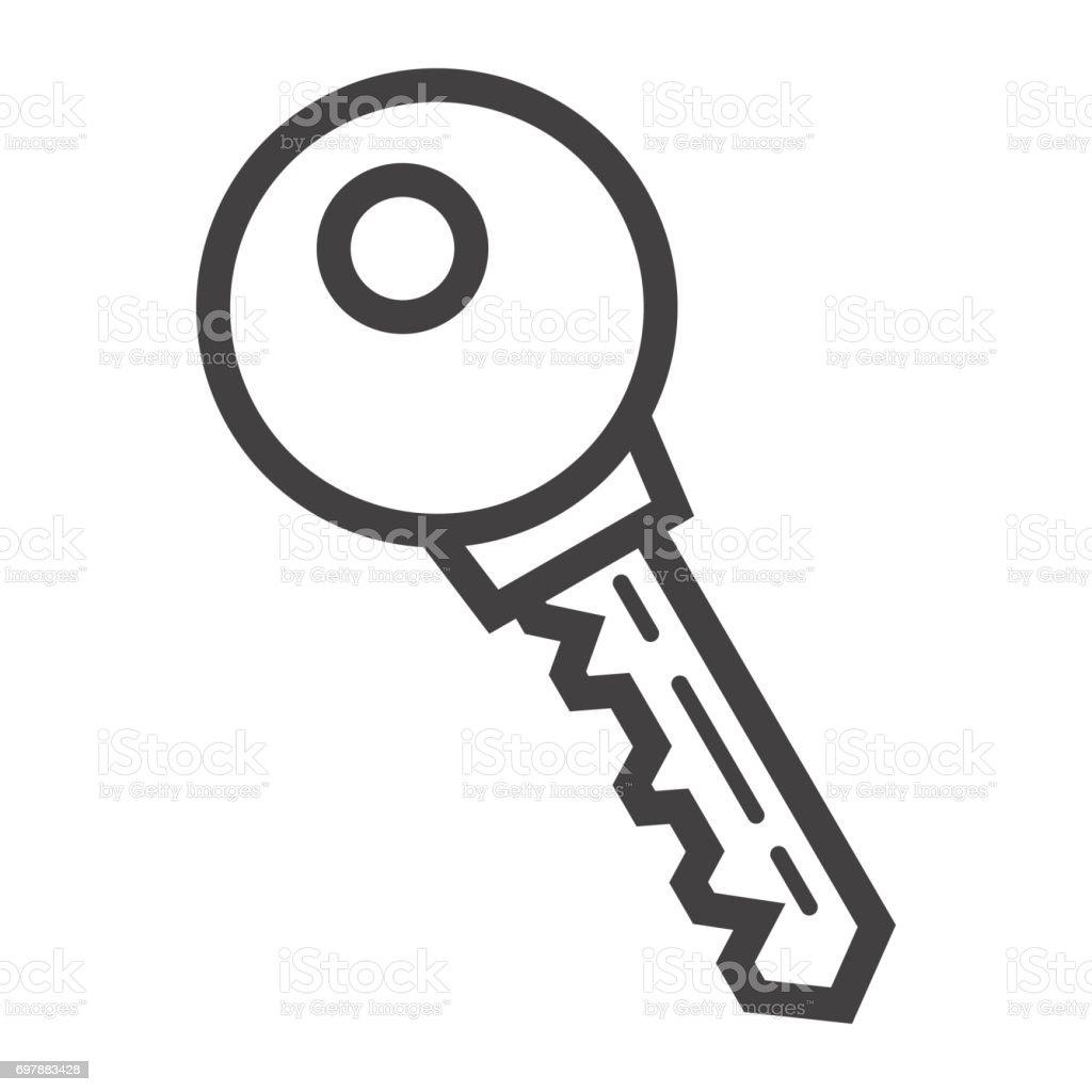 wichtigsten liniensymbol sicherheit und passwort vektor grafiken ein lineares muster auf weiem - Muster Passwort