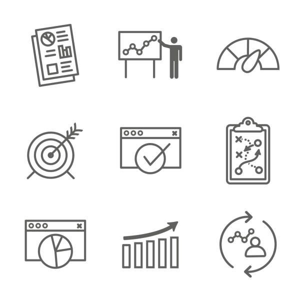 Best Financial Results Illustrations, Royalty-Free Vector