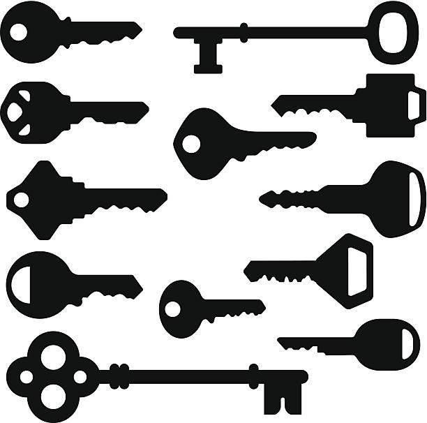 Vector Key Illustration