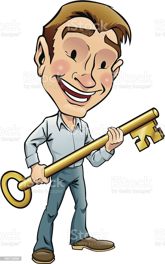 Key to Success royalty-free key to success stock vector art & more images of achievement