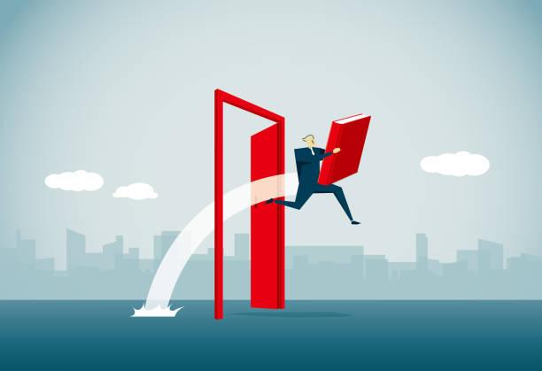 ilustraciones, imágenes clip art, dibujos animados e iconos de stock de clave del éxito - regreso a clases