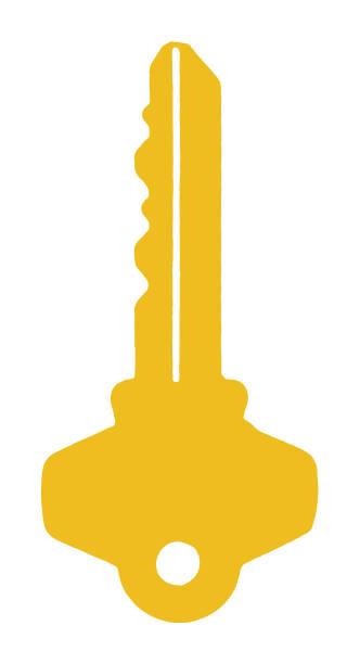 key - klucz stock illustrations