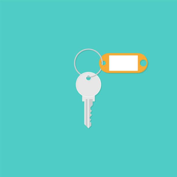 Vector Key Illustration: Best Key Ring Illustrations, Royalty-Free Vector Graphics