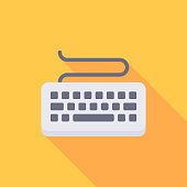 istock Keyboard Flat Icon. Pixel Perfect. For Mobile and Web. 1172502779