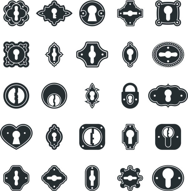 Best Keyhole Illustrations, Royalty-Free Vector Graphics ...