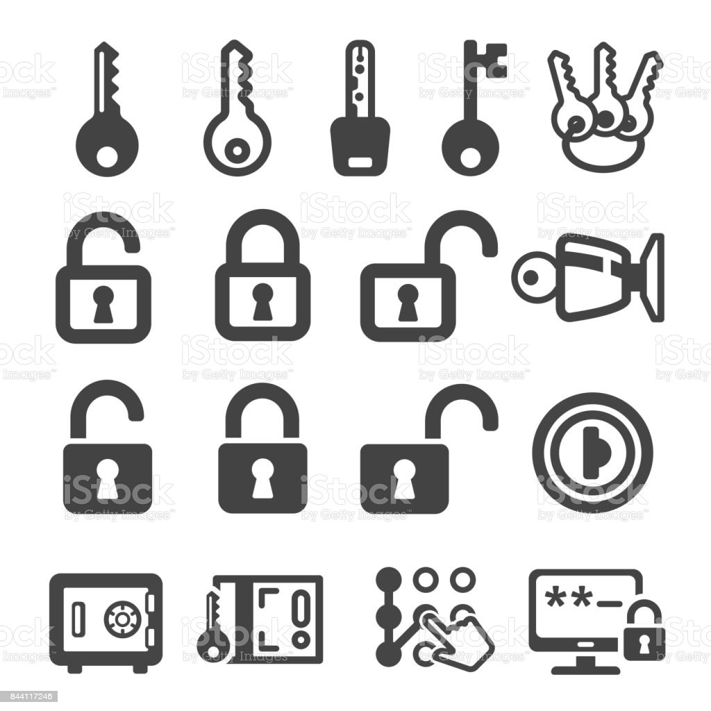 key,lock icon