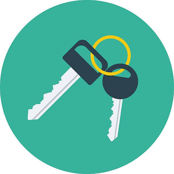 Vector Key Illustration: Top 60 Car Key Clip Art, Vector Graphics And Illustrations