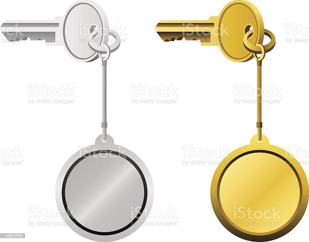 keys royalty-free stock vector art