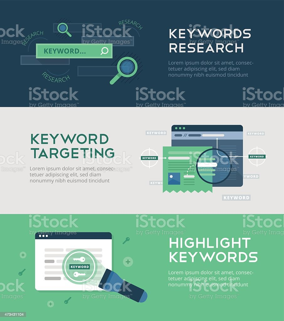 Keywords Optimization vector art illustration