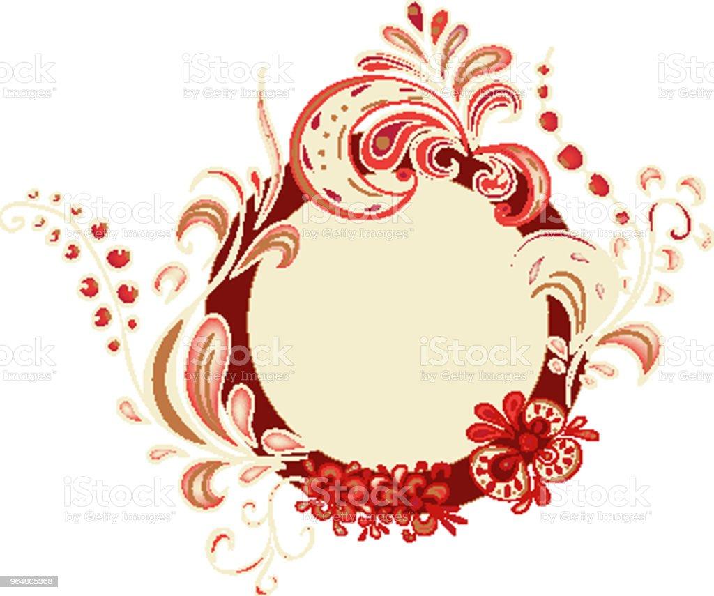 Khokhloma royalty-free khokhloma stock vector art & more images of art
