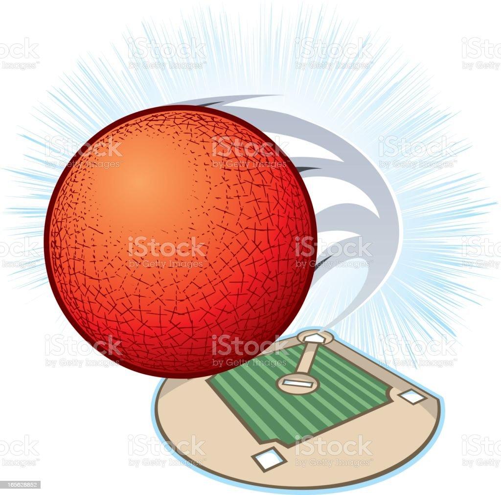 Royalty Free Kickball Clip Art Vector Images
