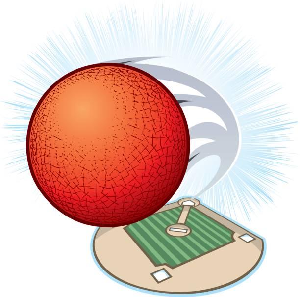 Kickball Field vector art illustration