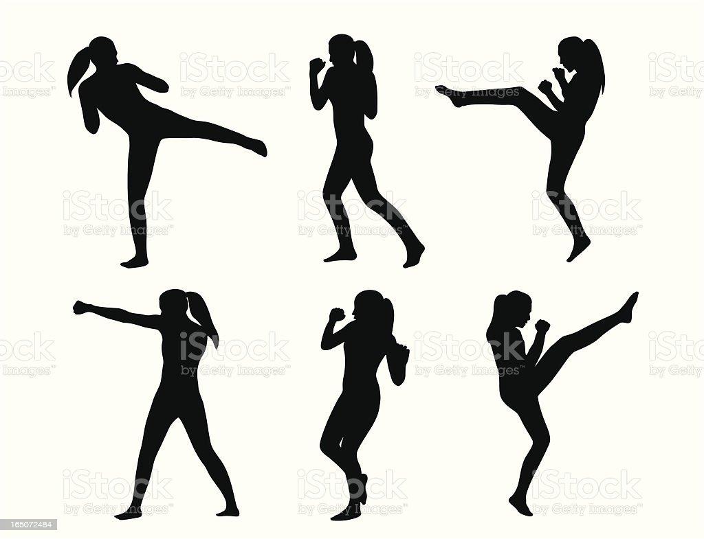 KickboxingShe – Vektorgrafik