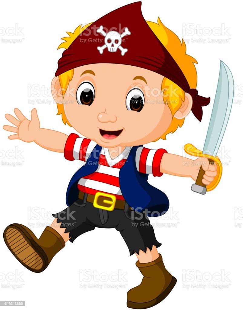boy pirate cartoon thepixinfo