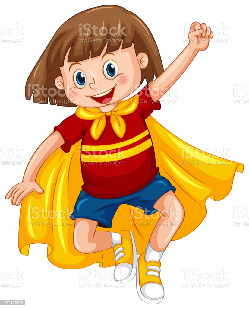 royalty free kid superhero clipart pictures clip art vector images rh istockphoto com superhero kid clipart black and white superhero kid clipart black and white