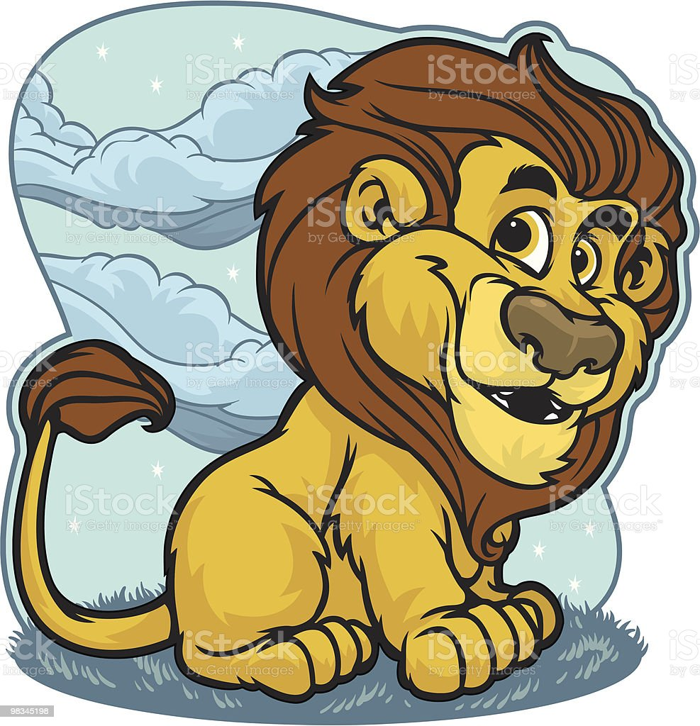 Kid Lion royalty-free kid lion stock vector art & more images of animal themes
