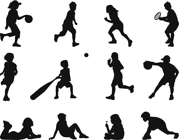Royalty Free Youth Basketball Clip Art, Vector Images