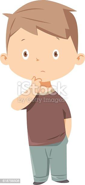 istock Kid thinking 618766508