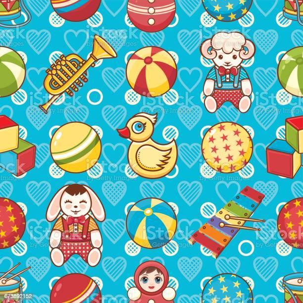 Kid toy seamless pattern design element for postcard banner flyer vector id673892152?b=1&k=6&m=673892152&s=612x612&h=a5gfiyuzseb7ffev3rxu4ckhnc8rumgtatzgmuycncy=