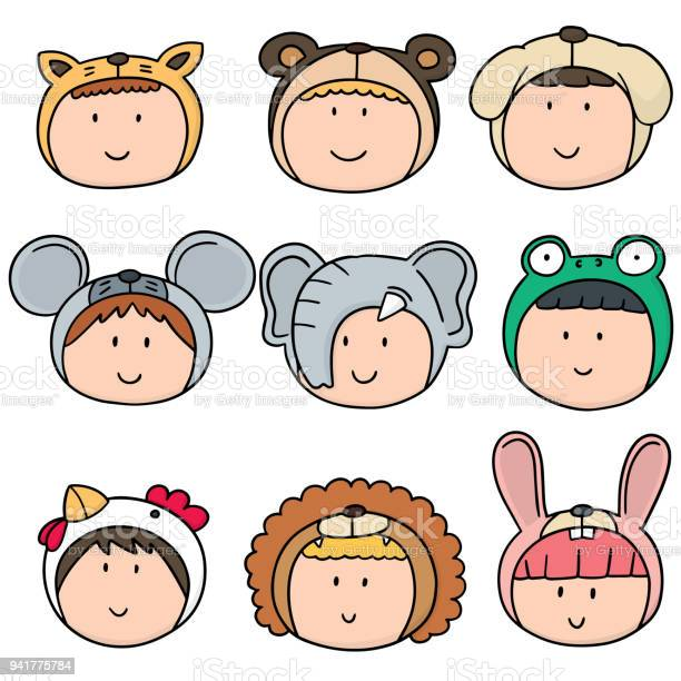 Kid with animal hat vector id941775784?b=1&k=6&m=941775784&s=612x612&h=8bpmajvhowqfebqshksnb7gdgnlqavrzedf8uul7rqg=