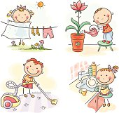 Kids and housework