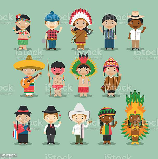 Kids and nationalities of the world vector set 4 america vector id501798274?b=1&k=6&m=501798274&s=612x612&h=v0dyia9y8w7jhi1cwqixwdsqgldbeo6qa7ync6qpye8=