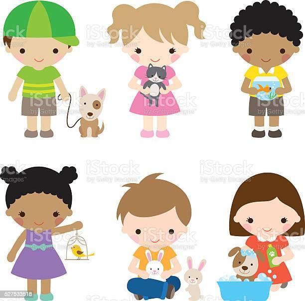 Kids and pets vector id527533518?b=1&k=6&m=527533518&s=612x612&h=ghuttjwseh4blpcjibllgzc6hgg0hgd8lwqvvajkzmk=