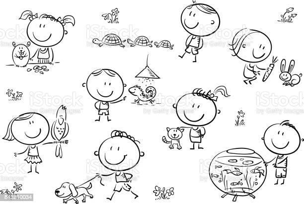 Kids and pets vector id843810034?b=1&k=6&m=843810034&s=612x612&h= lh9d09fucr1cyy3vrc1srn yborwoebm34pwez0dbi=