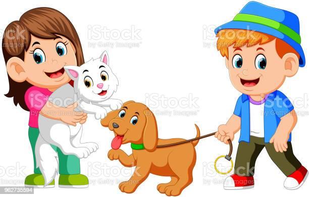 Kids and their pet vector id962735594?b=1&k=6&m=962735594&s=612x612&h=7mt7t ujnbidhobldjsj3u8cubvtd5zziko0mlwpvwo=