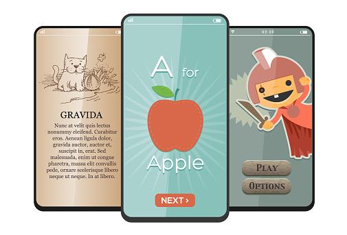 Kids App on Smartphone