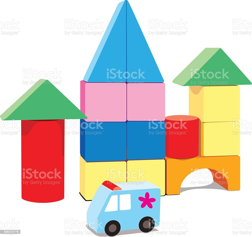 royalty free block stacking toy block stack clip art vector images rh istockphoto com lego blocks clipart blocks clipart black and white