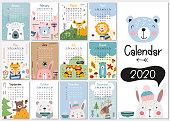 istock Kids calendar 2020 1171994727
