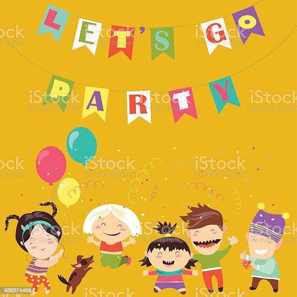 Kids celebrating birthday vector id636374458?b=1&k=6&m=636374458&s=612x612&h=vonwuymv9a4r9gui gawvpnsrwiytfjx5f 6bsduq6y=