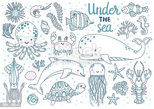 istock Ilustración de cachalote aislado sobre fondo blanco ...