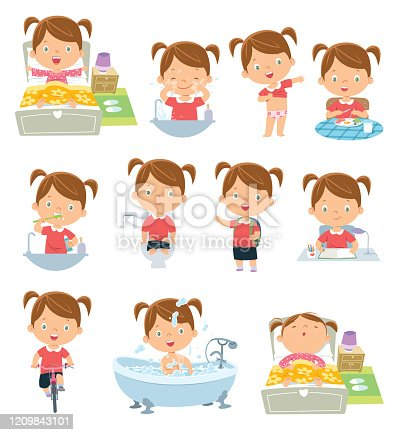 istock kids daily routine activities 1209843101