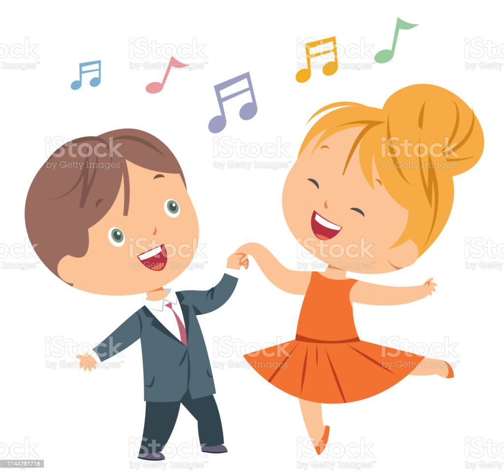 Kids Dance Stock Illustration Download Image Now Istock