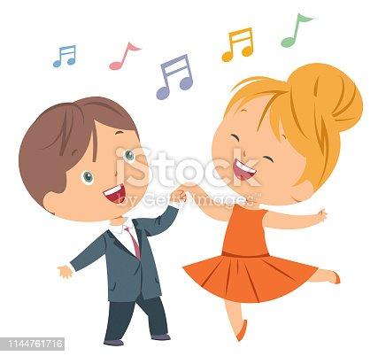 istock Kids Dance 1144761716