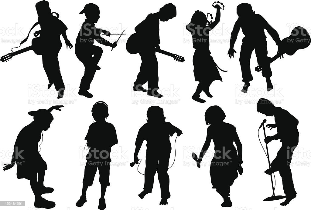 kids dancing royalty-free kids dancing stock vector art & more images of activity