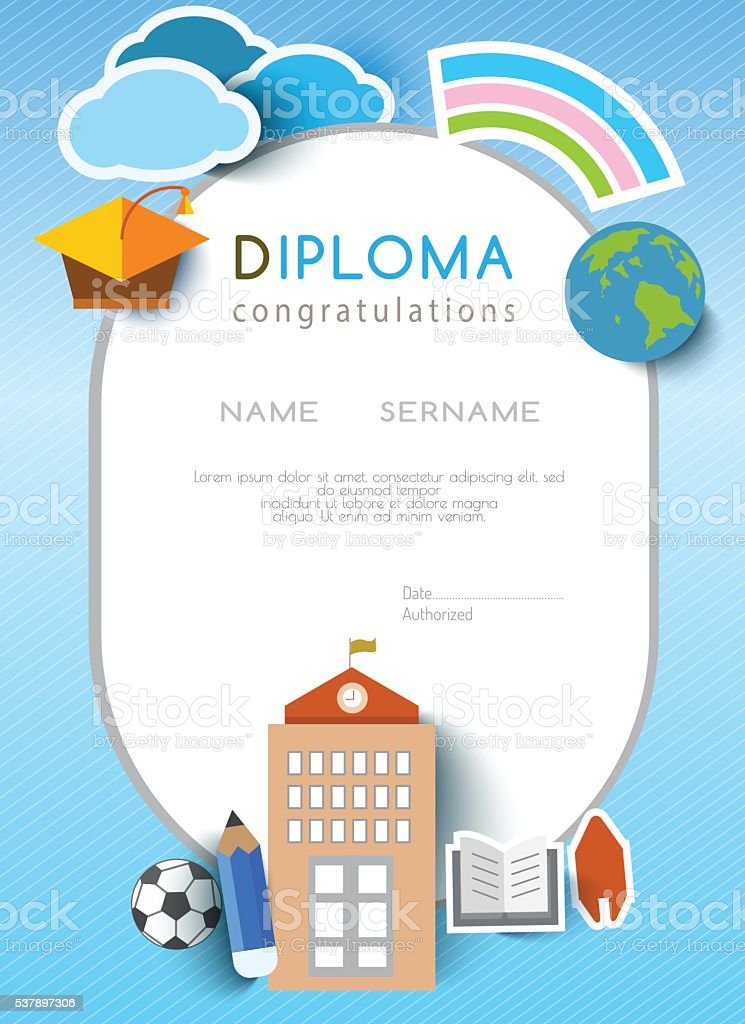 clipart stampato diploma