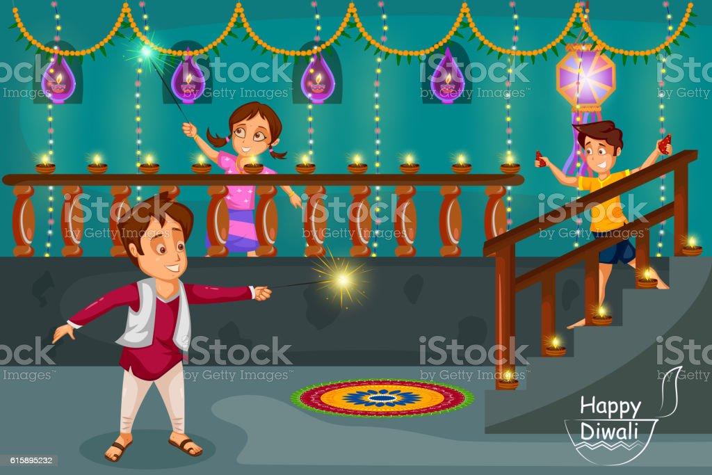 diwali festival information for kids