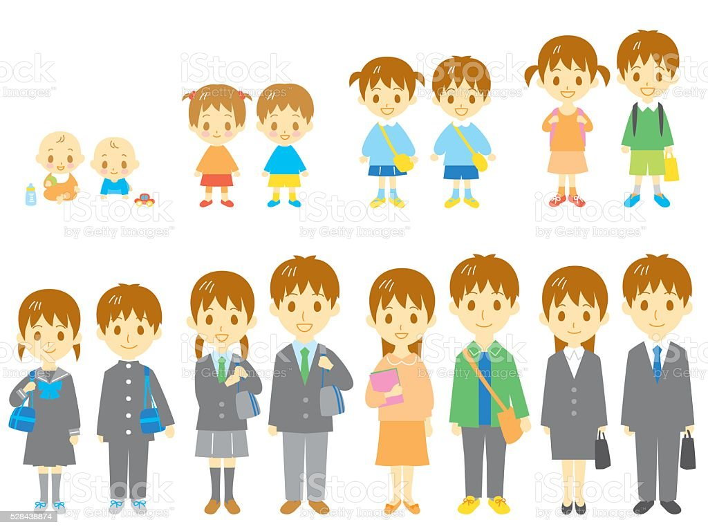 royalty free middle school students clip art vector images rh istockphoto com middle school girl clipart middle school dance clipart