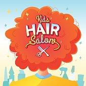 Kids hair salon.